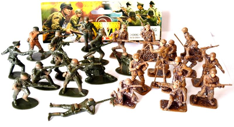 Солдатики в подарок ребенку 52