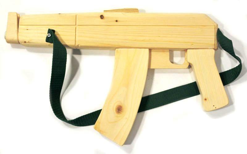 Как сделать свой автомат калашникова из дерева 322