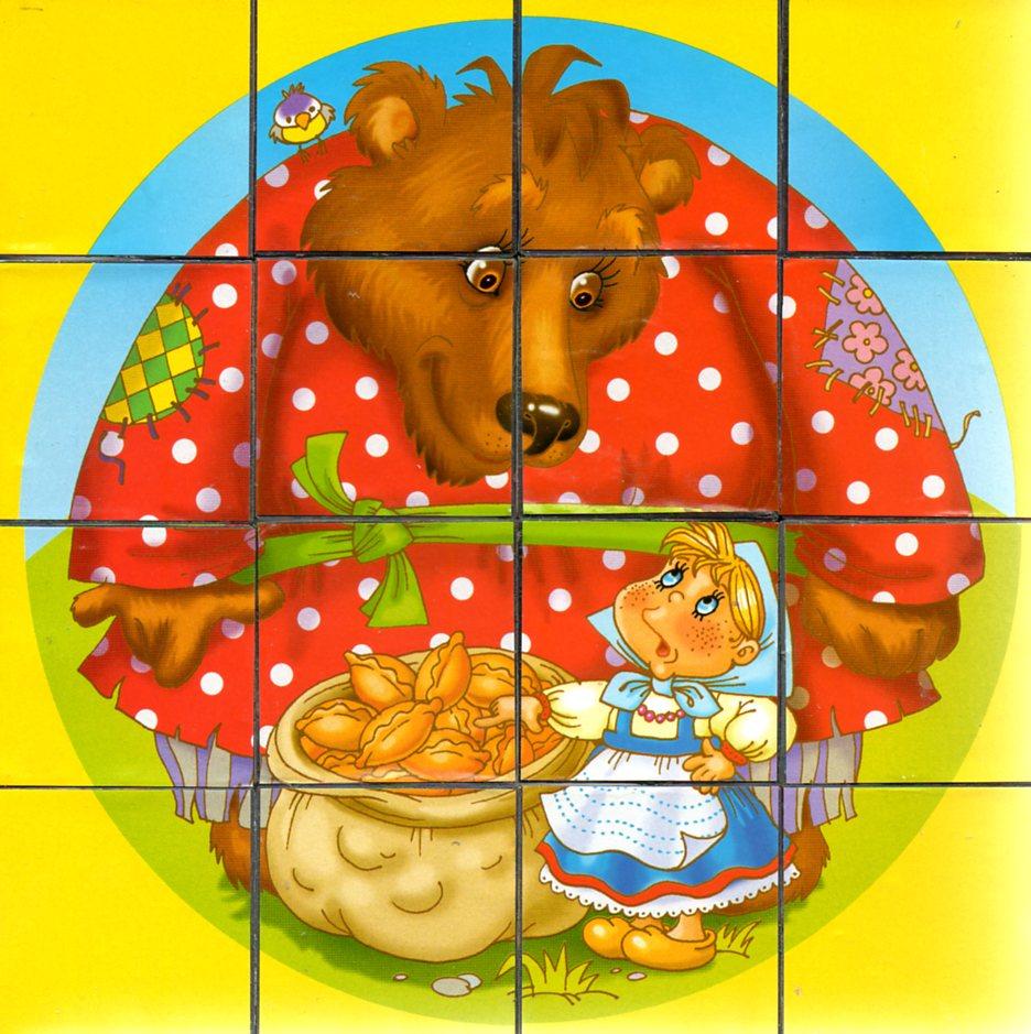 днем разрезная картинка маша и медведь собор караганде