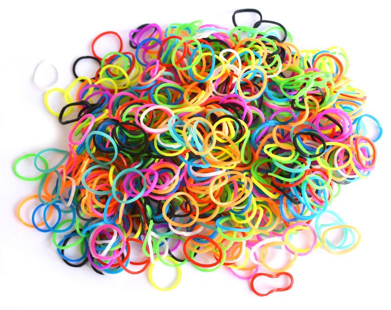 Плетение из цветных резинок картинки