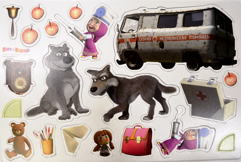 Картинки скорая помощь маша и медведь