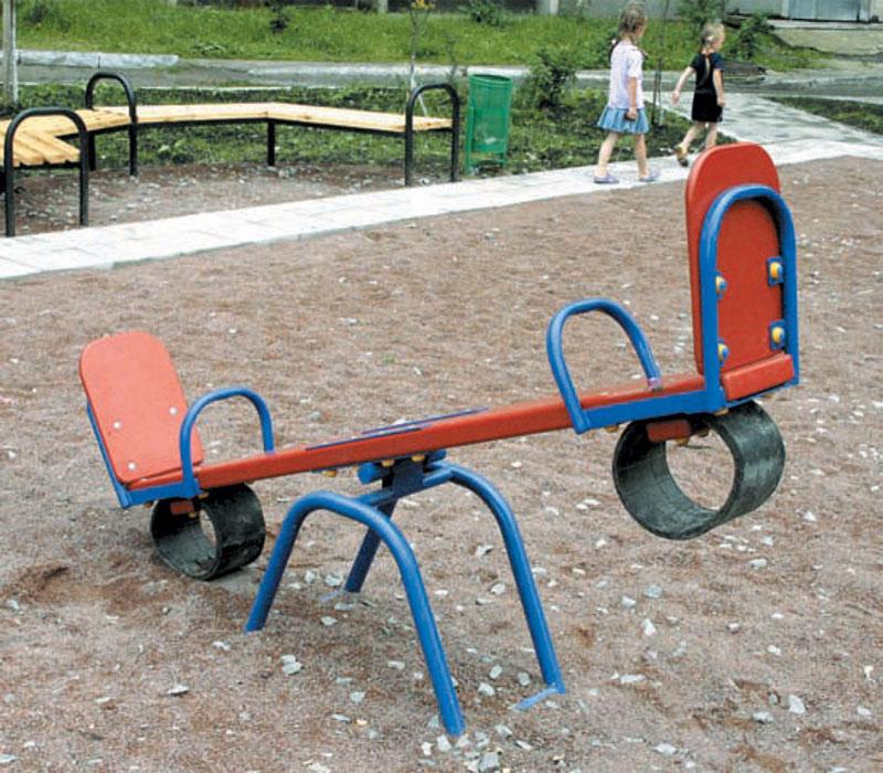 Качели на площадку в детский сад своими руками