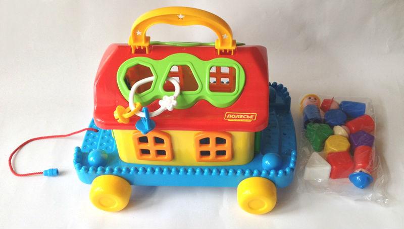 Сказочный домик на колёсах - Полесье игрушки