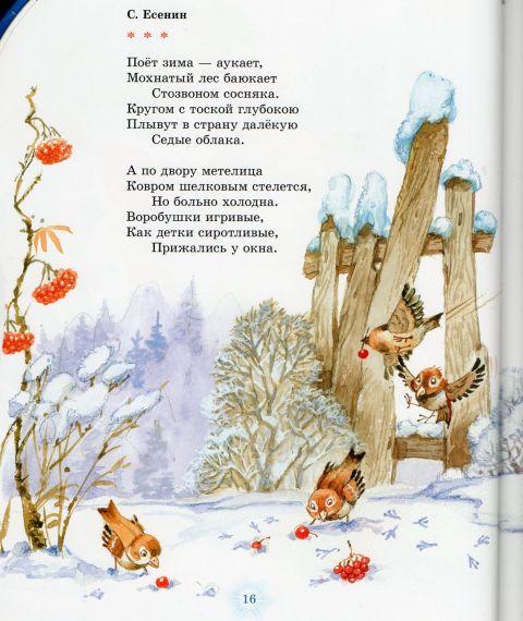 красота зимние новогодние стихи классиков его