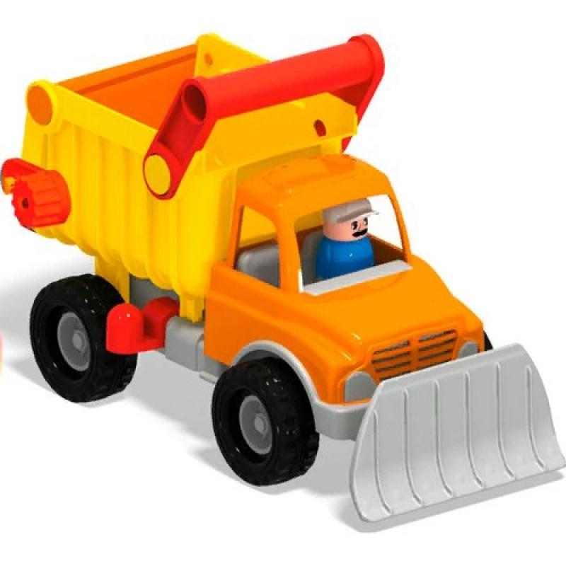 Машинка снегоуборочная самосвал - 26 см - Полесье игрушки