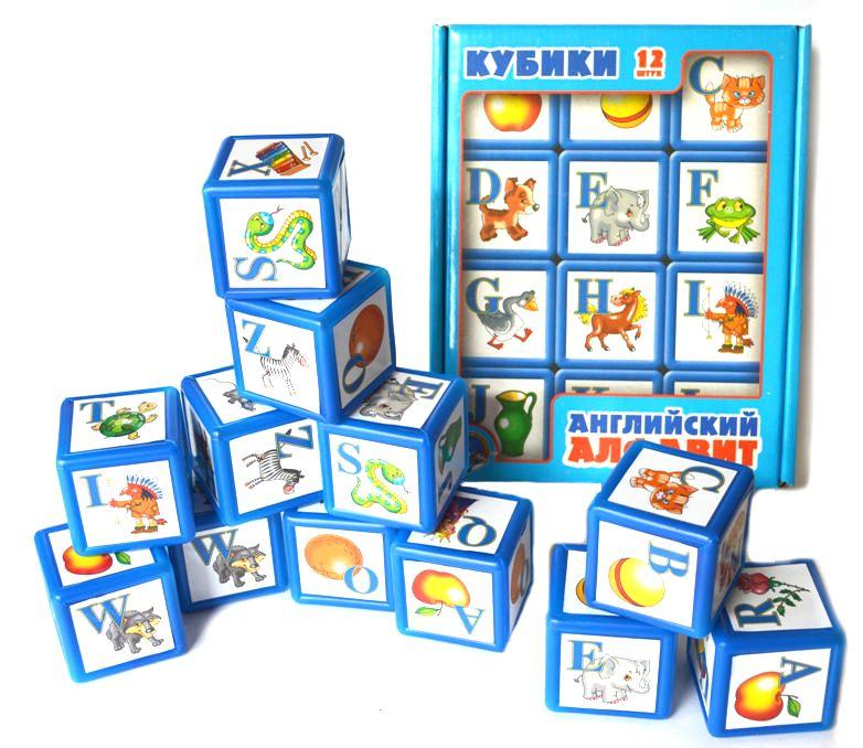 правило, алфавит английский в картинках для кубиков чем
